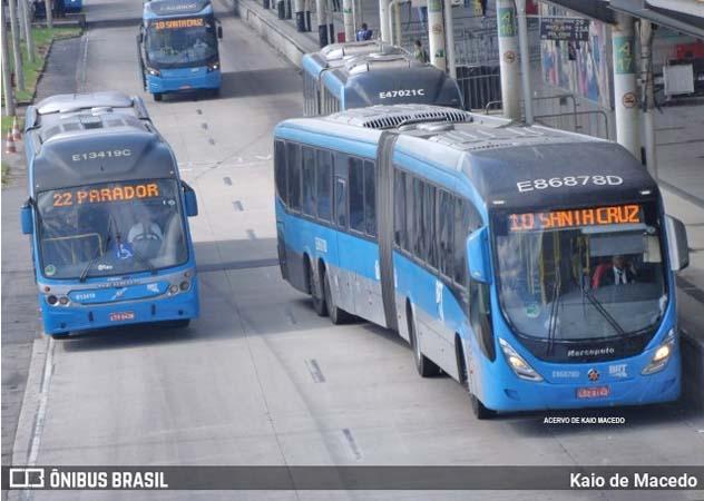 Rio: Ônibus do BRt voltam operar após guerra entre miliciados incendiar vans em Campo Grande - revistadoonibus