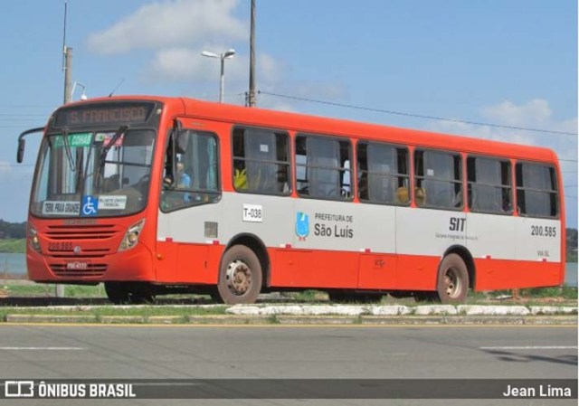 São Luís: Marginais fazem arrastão em ônibus na Avenida Beira Mar - revistadoonibus