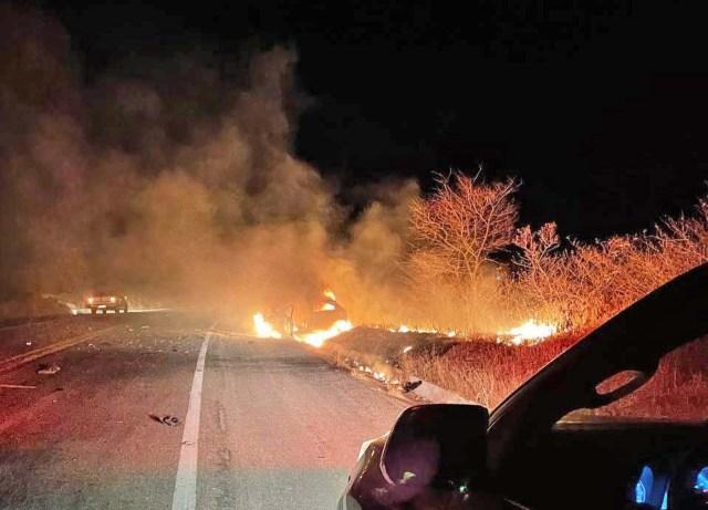 CE: Acidente entre ônibus e carro deixa um morto na BR-020, em Canindé - revistadoonibus