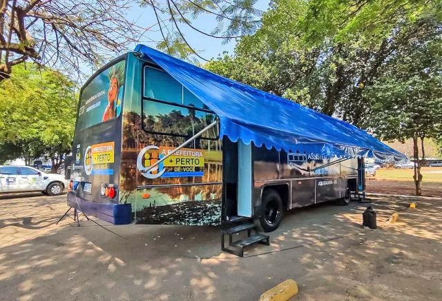 MS: Aquidauana disponibiliza ônibus para atendimento social