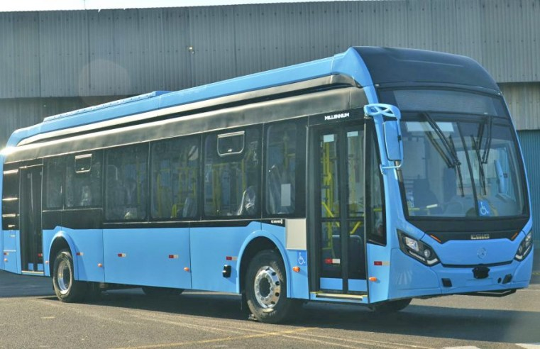 Caio disponibiliza ônibus elétrico em parceria com a Mercedes-Benz