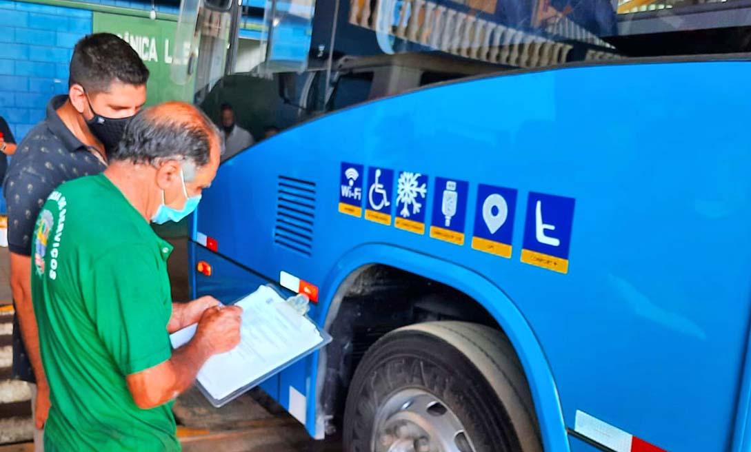 SP: Bragança Paulista realiza fiscalização em ônibus