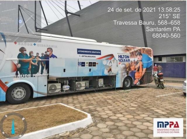 MPPA investiga utilização de ônibus plotado com imagem do deputado Hilton Aguiar, em Santarém - revistadoonibus