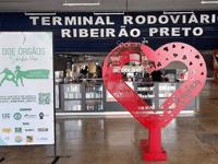 SP: Rodoviária de Ribeirão Preto recebe ação de incentivo à doação de órgãos - revistadoonibus