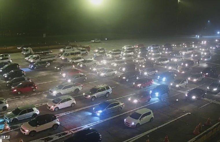Ao Vivo: Confira a situação das Estradas na saída do feriadão nesta sexta-feira