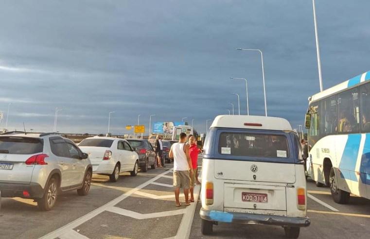 Ponte Rio x Niterói foi fechada no sentido Niterói em ação policial