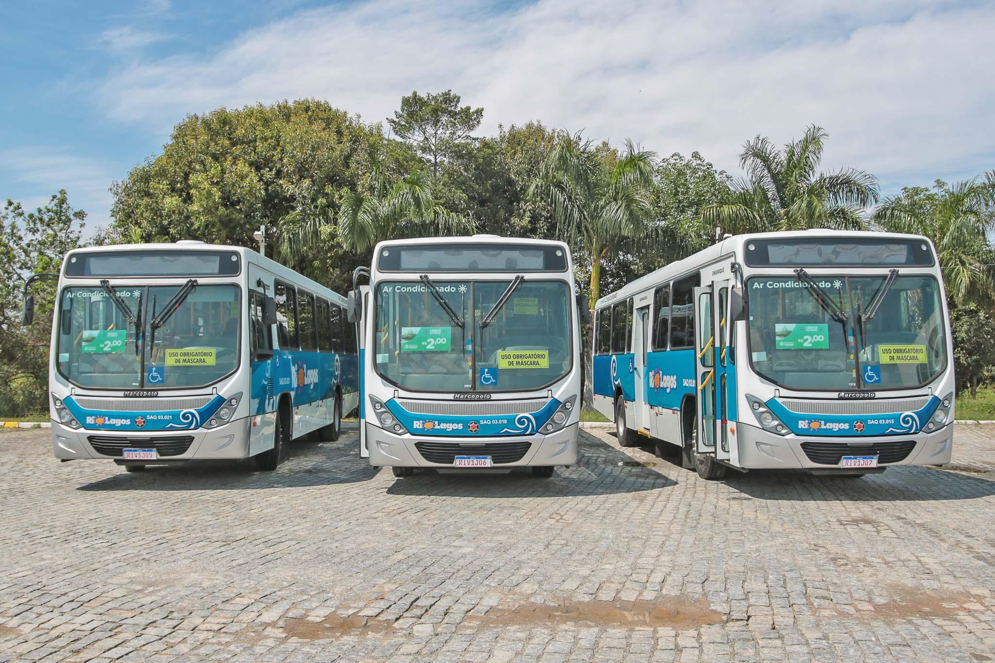 RJ: Saquarema terá novos ônibus nas linhas municipais