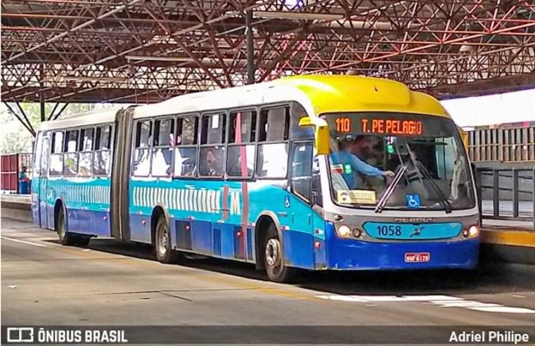 Goiânia: Mulher é atropelada por ônibus do Eixo Anhanguera no Centro de Goiânia