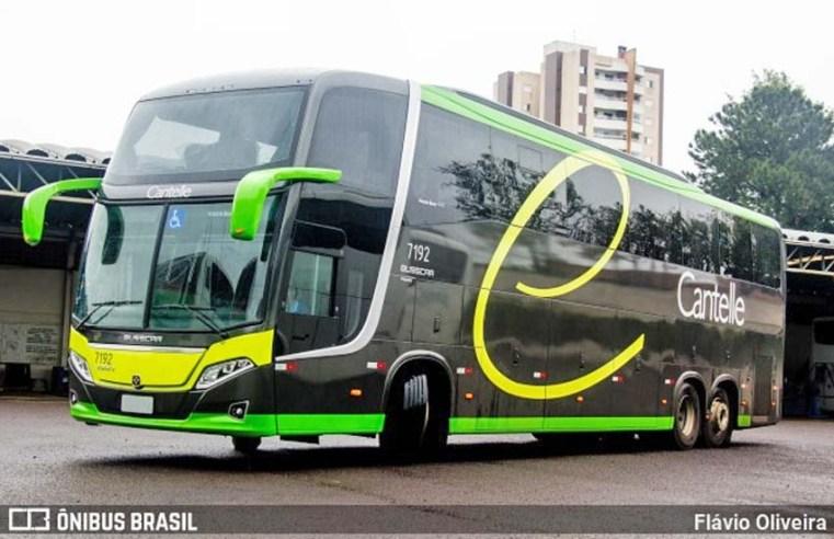 Cantelle renova parte da frota com Busscar Vissta Buss 400 Volvo B420R