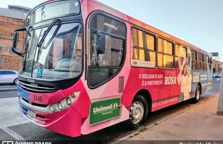 SP: Piracicaba faz campanha no transporte público para prevenção ao câncer