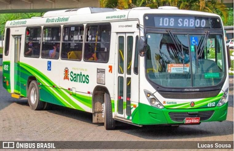 Santos: Câmara Municipal aprova gratuidade no transporte público para maiores de 60 anos