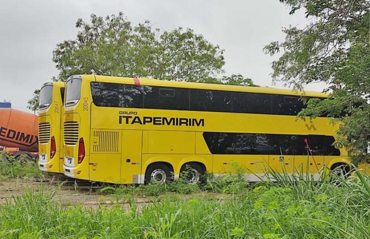 Rio: Ônibus que teriam sido apreendidos são de empresa de turismo, diz Viação Itapemirim