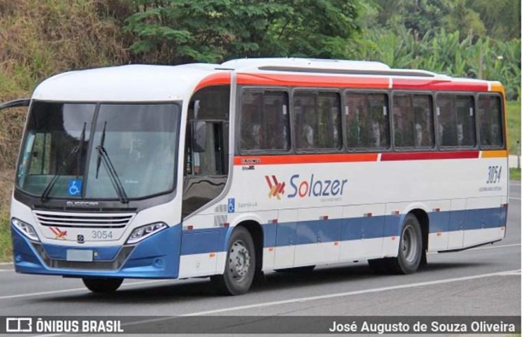 Solazer Turismo recebe neste fim de semana dois novos ônibus Busscar El Buss 320