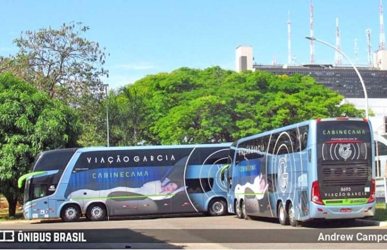 Viação Garcia abre mais de 100 vagas para contratação de motoristas e agentes de viagens