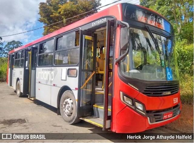 Juiz de Fora: Linha de ônibus com destino a Rodoviária volta circular na cidade - revistadoonibus