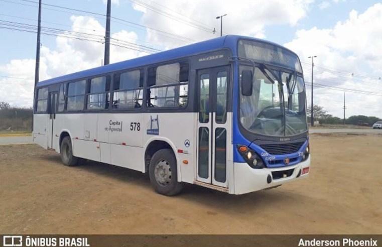 Caruaru: Nova linha de ônibus começa a operar nesta segunda-feira