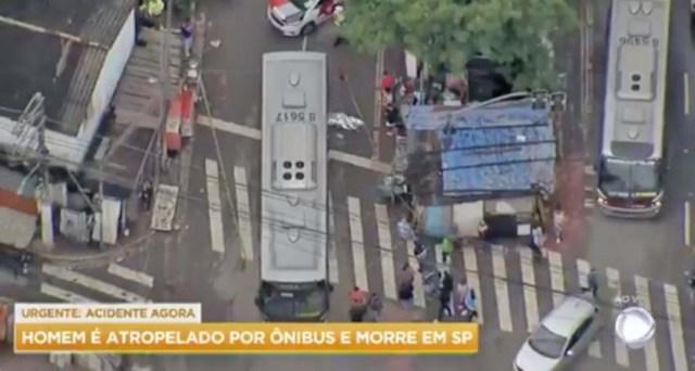 São Paulo: Ônibus atropela e mata homem na zona sul da capital - revistadoonibus