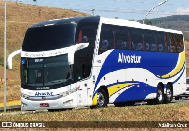 Aparecida: Ônibus de turismo começam deixa o estacionamento da Basílica nesta tarde - revistadoonibus