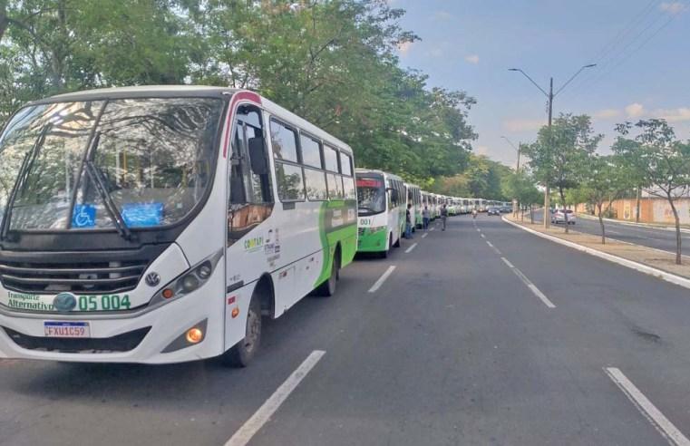 Teresina: Transporte alternativo entra em greve após bloqueio da bilhetagem eletrônica - revistadoonibus