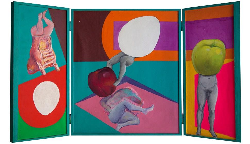 Roberto Obregón Sin título (el pecado original), c. 1974