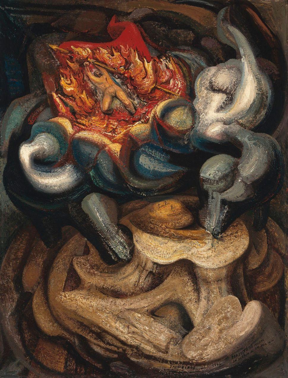 David Alfaro Siqueiros, The Resurrection, 1946