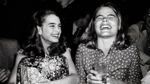 Brooke Shields y Mariel Hemingway -Adam Scull. Photolink Newscom