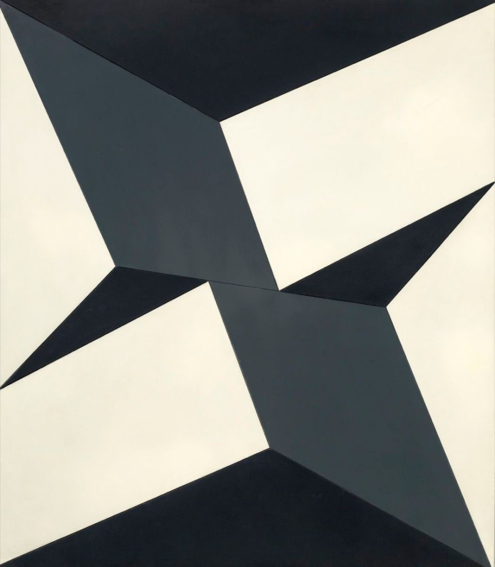 """Lygia Clark, Planes on a Modulated Surface No. 5 (Planos em superfície modulada no. 5), 1957. © """"The World of Lygia Clark"""" Cultural Association. Courtesy of The Museum of Fine Arts, Houston and The Adolpho Leirner Collection of Brazilian Constructive Art."""