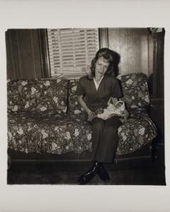 Diane Arbus. A woman with her baby monkey n.j.1971 Smithsonian American Art Museum © The state of Diane Arbus