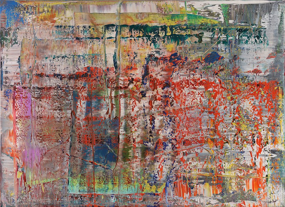 Gerhard Richter Chromatic Abstractions Abstract Painting 1990