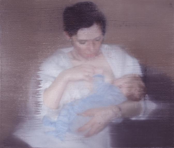 Gerhard Richter. S. nit kind, 1995.