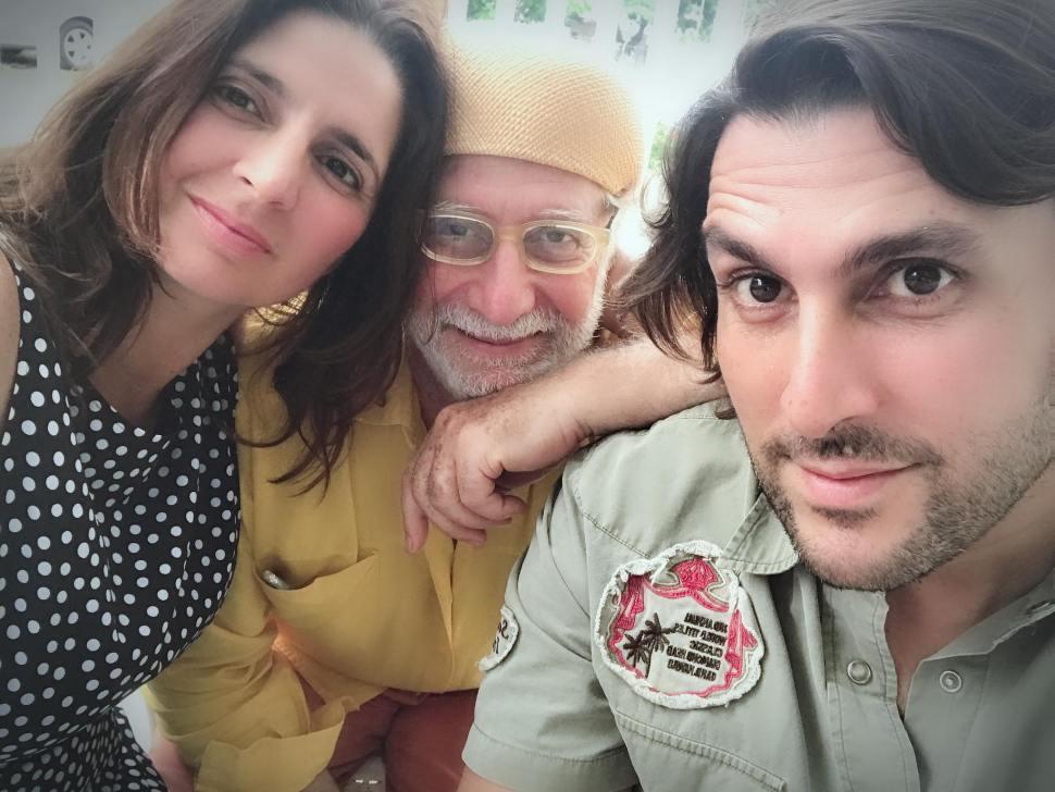 Ricardo Benaim, Daniel y Gabriela Benaim.