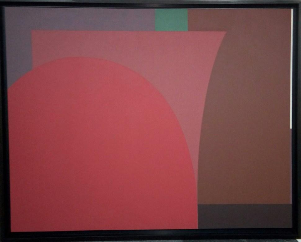 Mercedes Pardo. Armonía en rojo, 1983