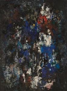 Mercedes Pardo, Composición implícita, 1959.