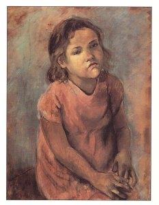Mercedes Pardo. Retrato de Gregoria, 1947.