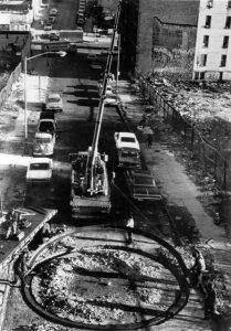 19. To Encircle Base Plate. Hexagram, Right Angles Inverted. Para rodear el hexagrama de la placa base, ángulos rectos invertidos. 1970. Bronx. NYC