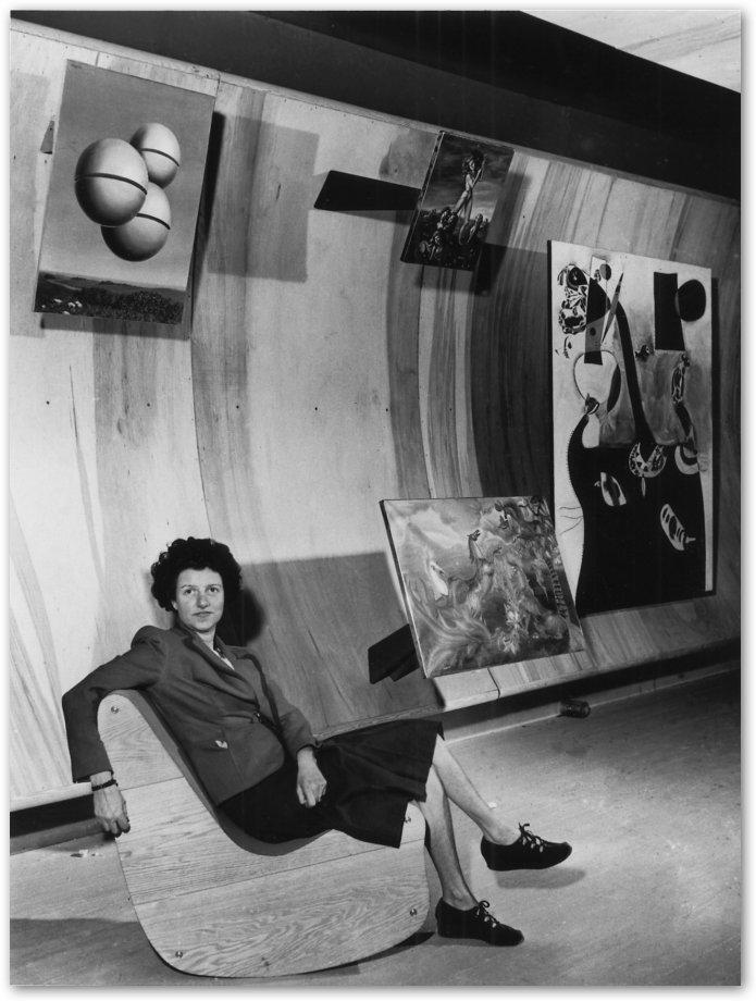 Art of This Century Gallery, 30 W. 57th Street, New York City, 1942.