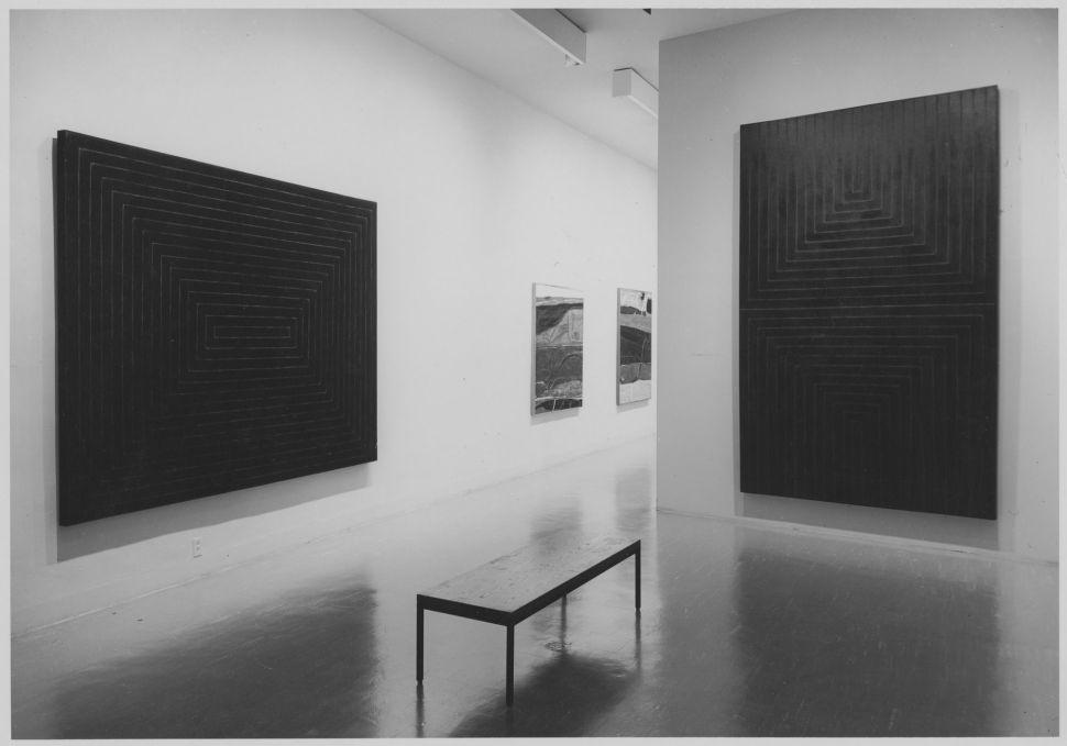Frank Stella. Black Paintings