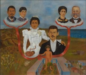 Frida Kahlo. Mis abuelos, mis padres y yo. Árbol de familia. Family Tree 1936. MoMA