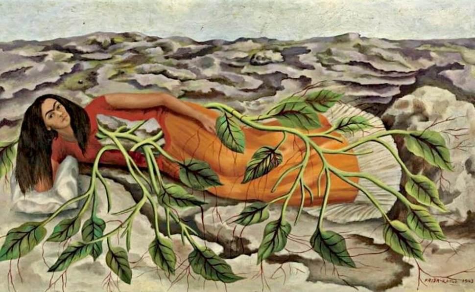 Frida Kahlo. Raíces, 1943