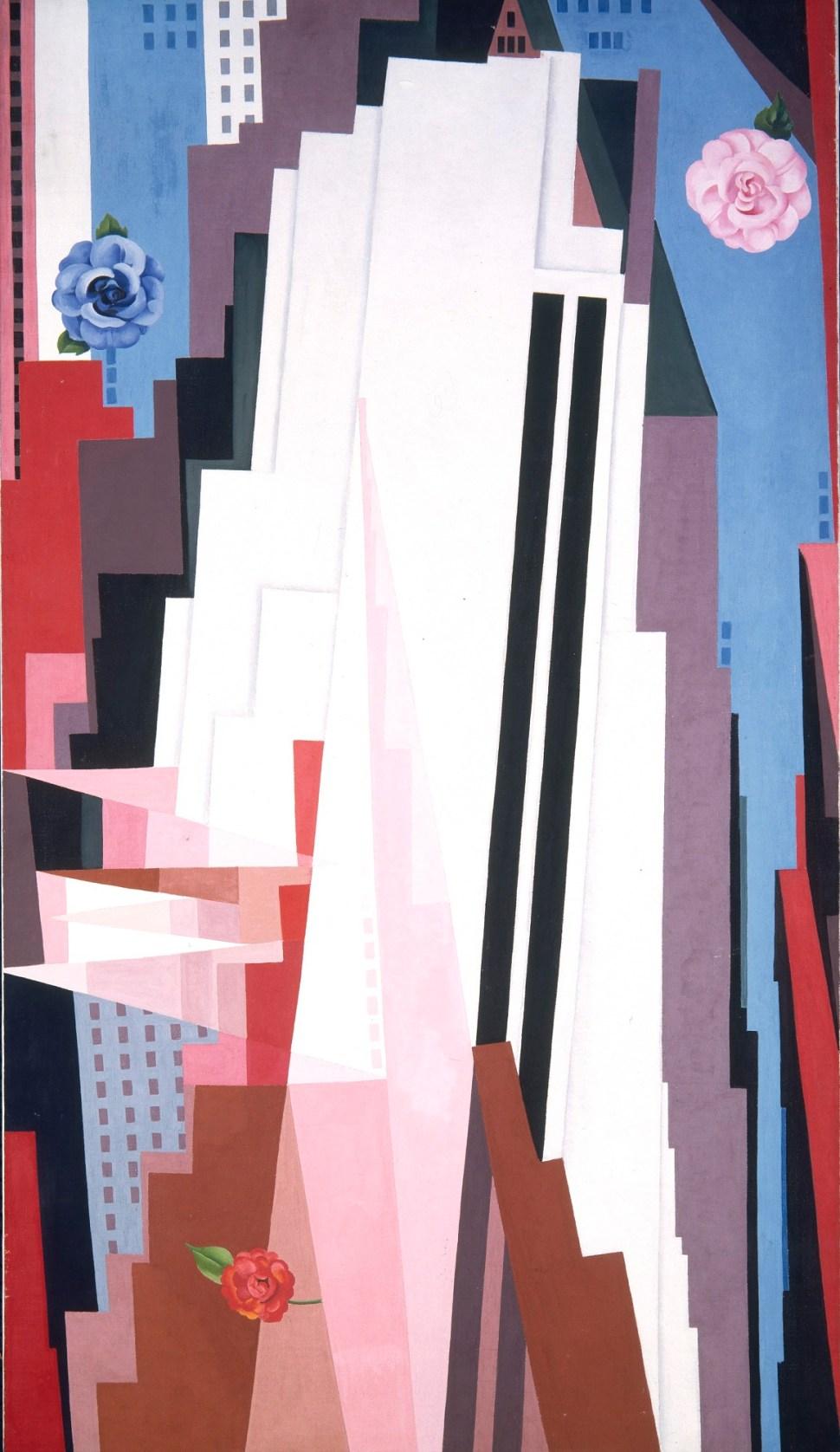 Georgia O'Keeffe Manhattan 1932