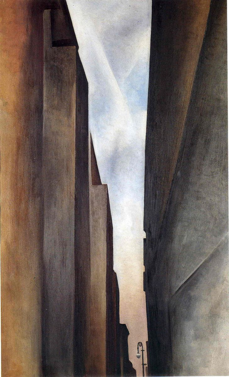 Georgia O'Keeffe New York Street No.1 1926