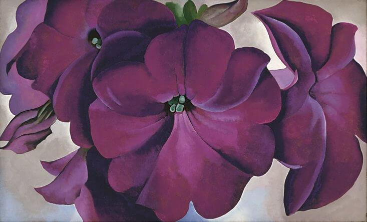 Georgia O'Keeffe Petunias 1928