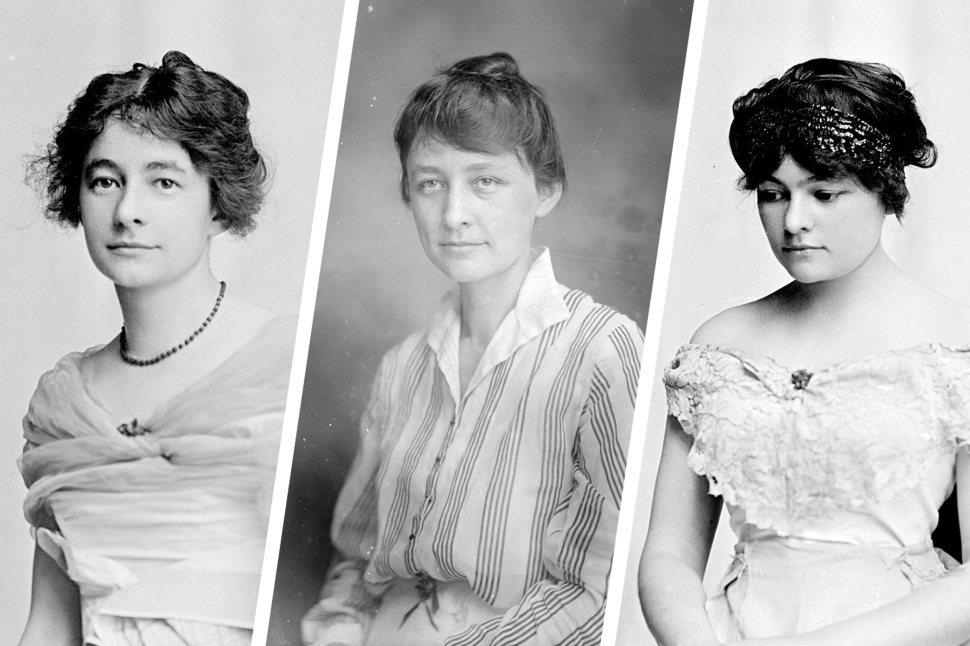 Ida, Georgia y Anita O'Keeffe 1914
