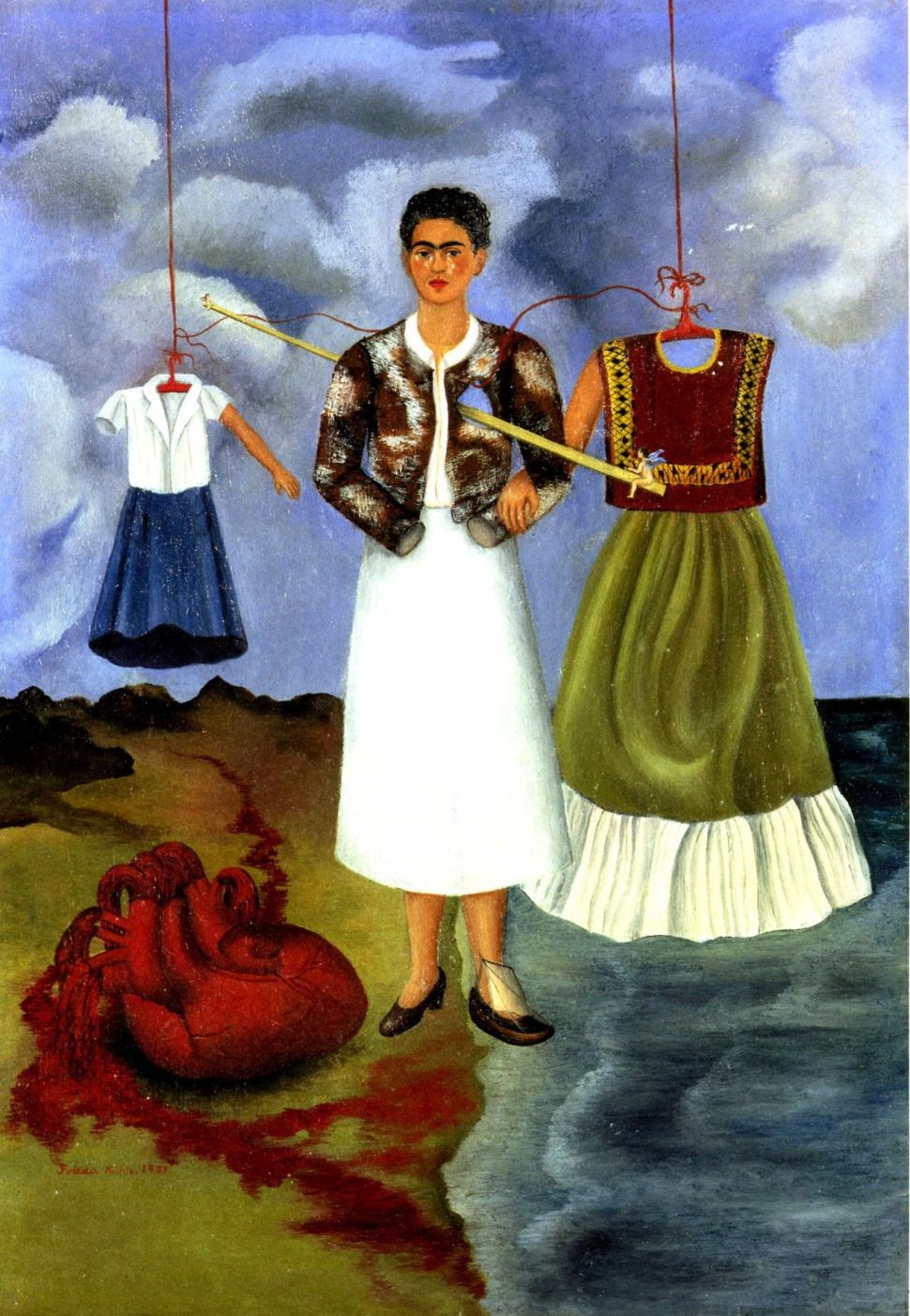 Frida Kahlo. Memoria del corazón, 1937.