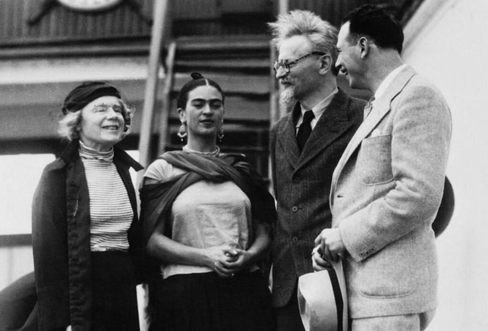 Natalya Trotsky, Frida, León Trotsky y Max Schachtman México. 1937 Foto de Bettmann
