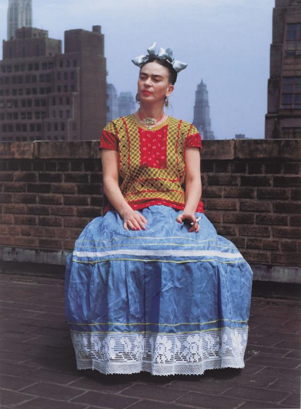 Nickolas Muray. Frida en Nueva York. 1937