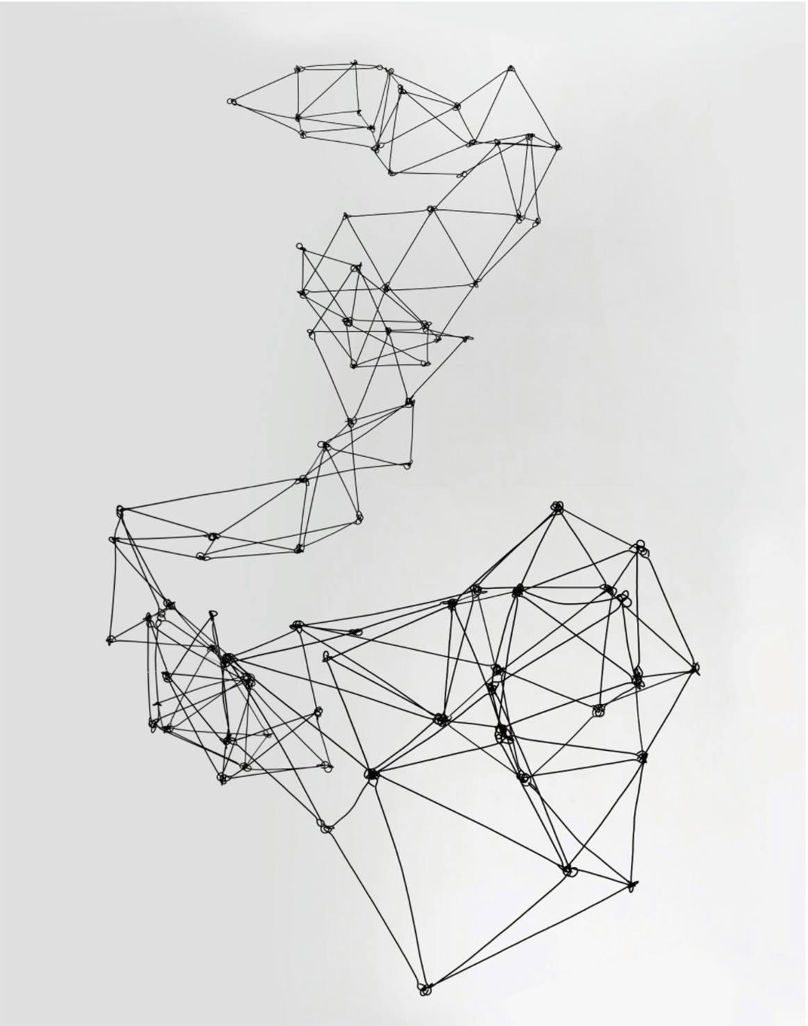 Gego. Columna Reticulárea. 1969. MoMA