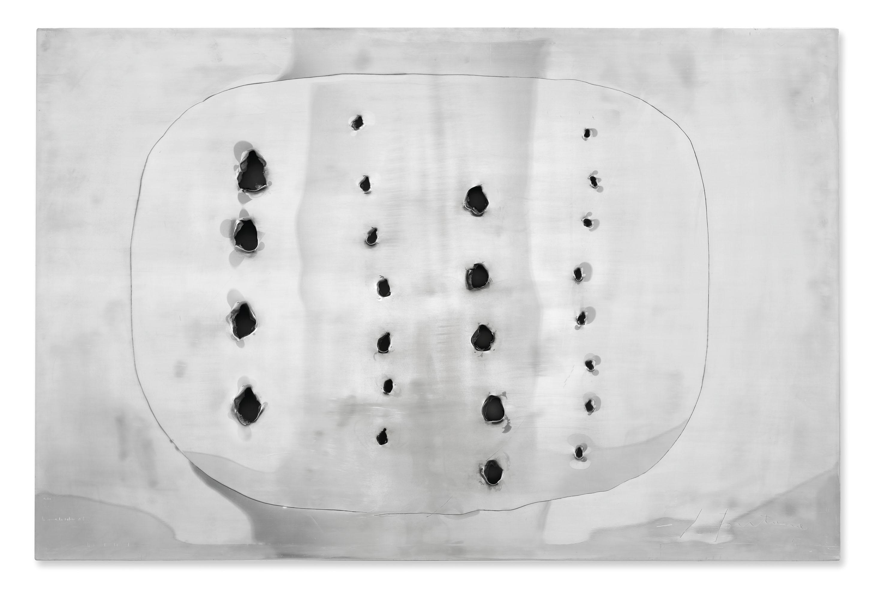 Lucio Fontana. Concepto Espacial, 1958