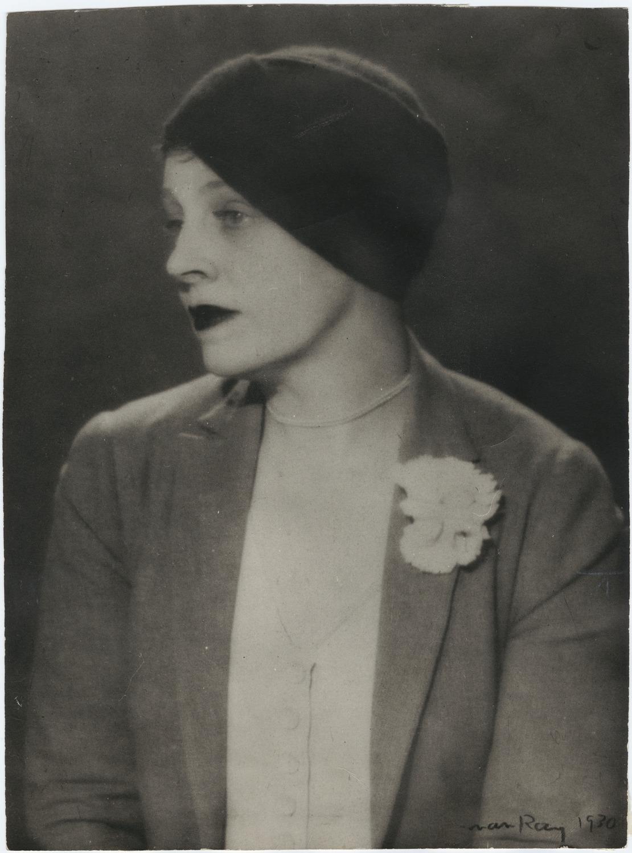 Margaret Anderson por Man Ray