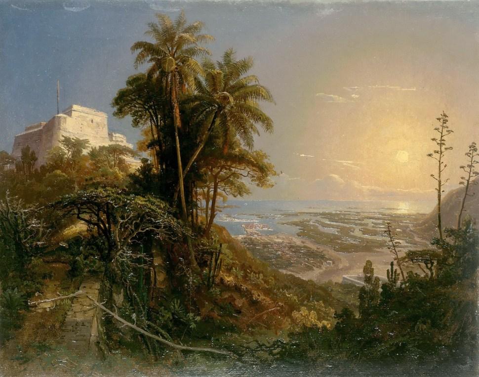 Vista de Puerto Cabello 1843 Ferdinand Bellermann